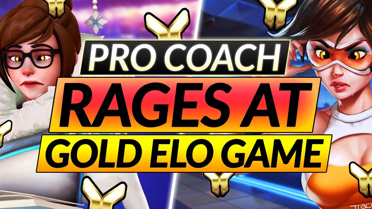 Why is EVERYONE THROWING??? Silver/Gold DPS ANALysis: ELO HELL Tracer -  Overwatch Guide