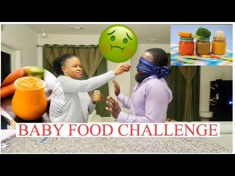 BABY FOOD CHALLENGE ( Extremely FUNNY)