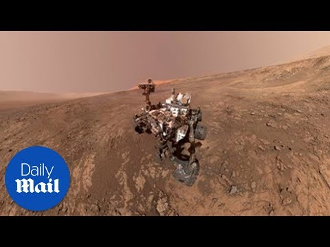 NASA gives a tour of Mars rover's Gale Crater view– Daily Mail