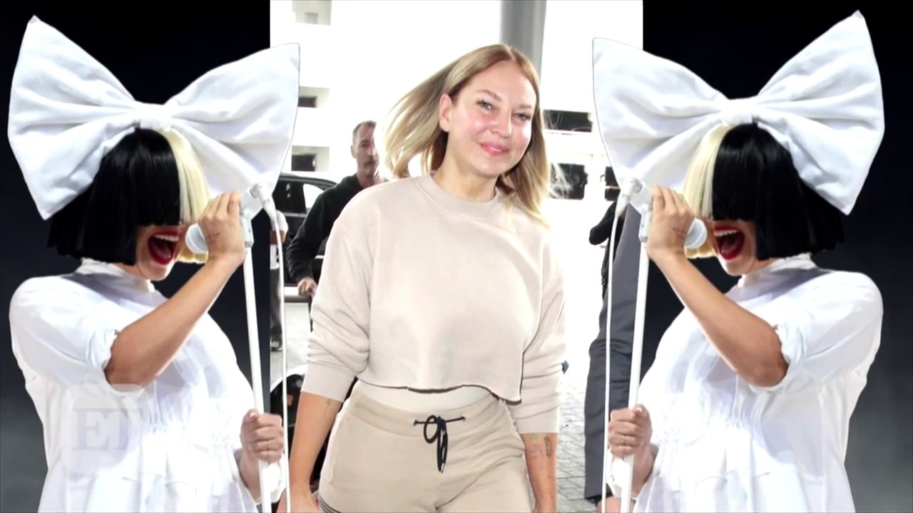 Sia Uncovers Her Face In Public By Going Makeup Free And Without Wig