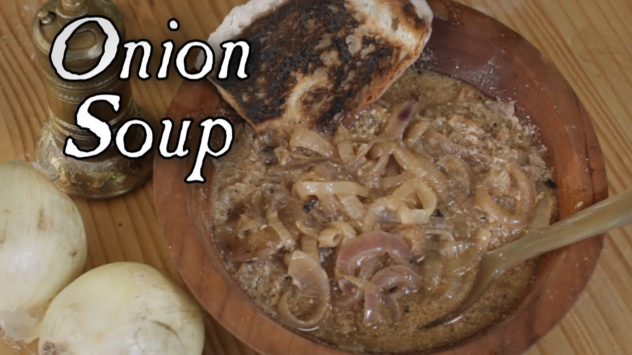 Cooking onion soup 18th century recipe s4e14 youtube for 18th century cuisine
