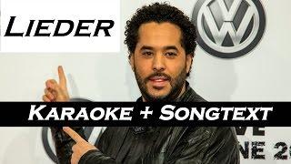 Lieder - Adel Tawil (Karaoke/Instrumental) + Songtext | [HD]
