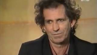 The Rolling Stones -  Keith Richards interview (MTV 1994)