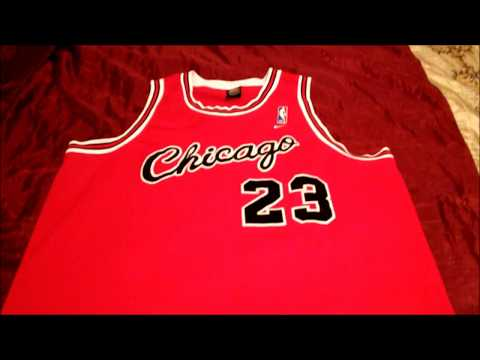 Nike Rewind Chicago Bulls Jordan Throwback Jersey 84 85 Season