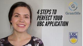 4 Tips to Perfect Your UBC Application