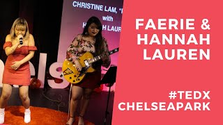 Chained To The Rhythm by Katy Perry (Cover) | Faerie ft. Hannah Lauren | TEDxChelseaPark