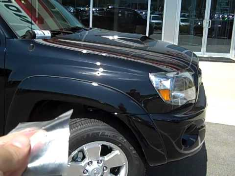 2011 Toyota Tacoma 3m Scotch Guard Amp 3m Paint Protection
