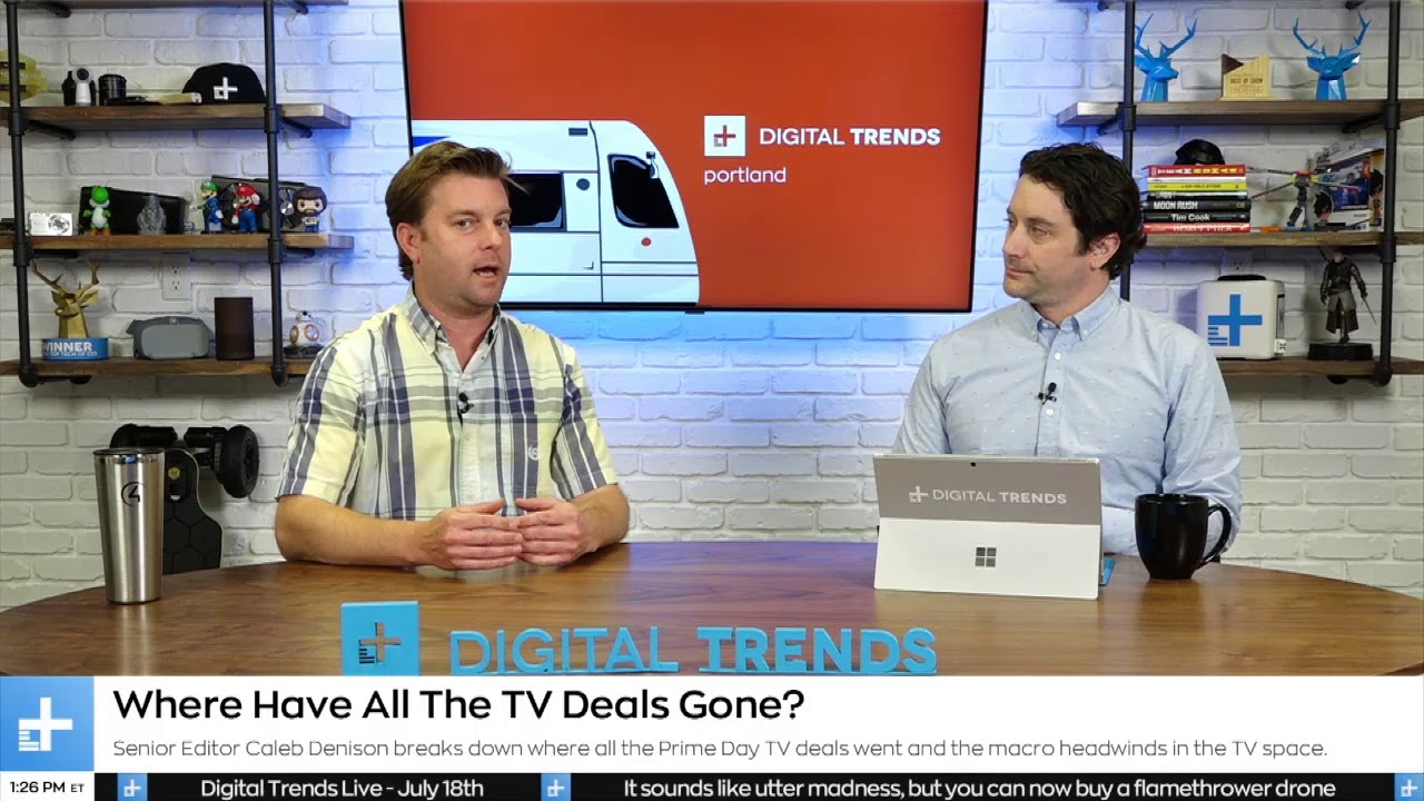 Digital Trends Live - 7.18.19 - Netflix Loses U.S. Subs...What's Next? + Using A.I. For Social