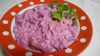 Вкусный салат ЧИСТИТ организм