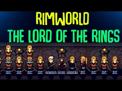 The Lord Of The Rings Rimworld Mod Has Begun Production