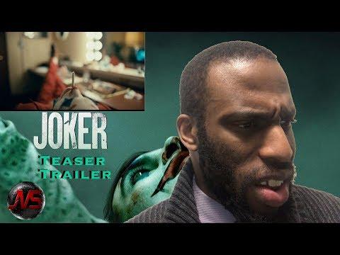REACTION to JOKER - Teaser Trailer | #JokerMovie