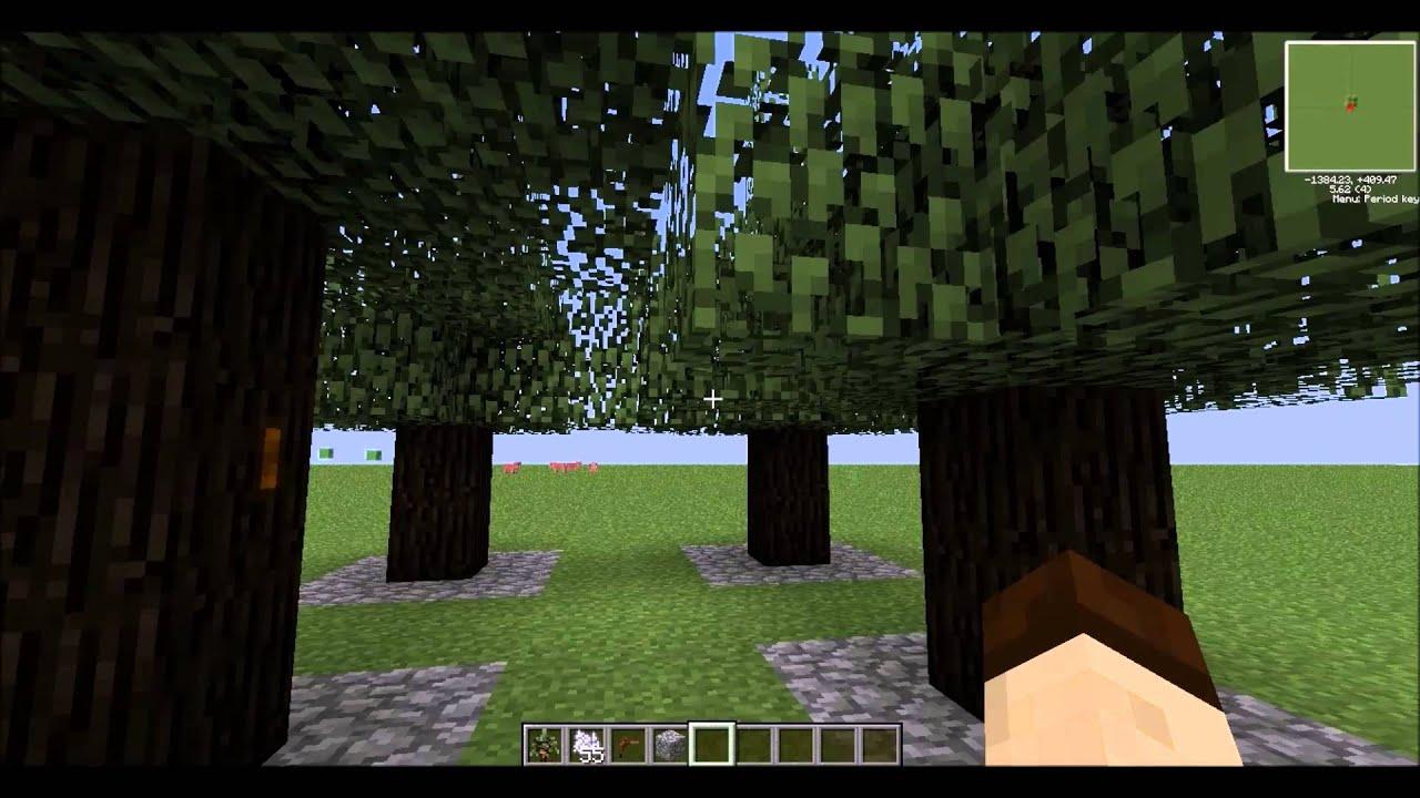 Tekkit Tutorial Rubber Tree Farm Treetap Youtube