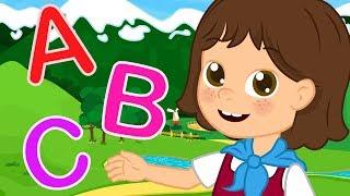 Heidi nel Canzone dell'Alfabeto ABC   Canzoni per bambini