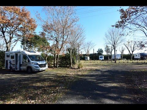 【車中泊】キャンピングカーでオートキャンプ/有野実苑オートキャンプ場