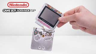 I Restored This Destroyed Gameboy Advance SP - Retro Nintendo Console Restoration