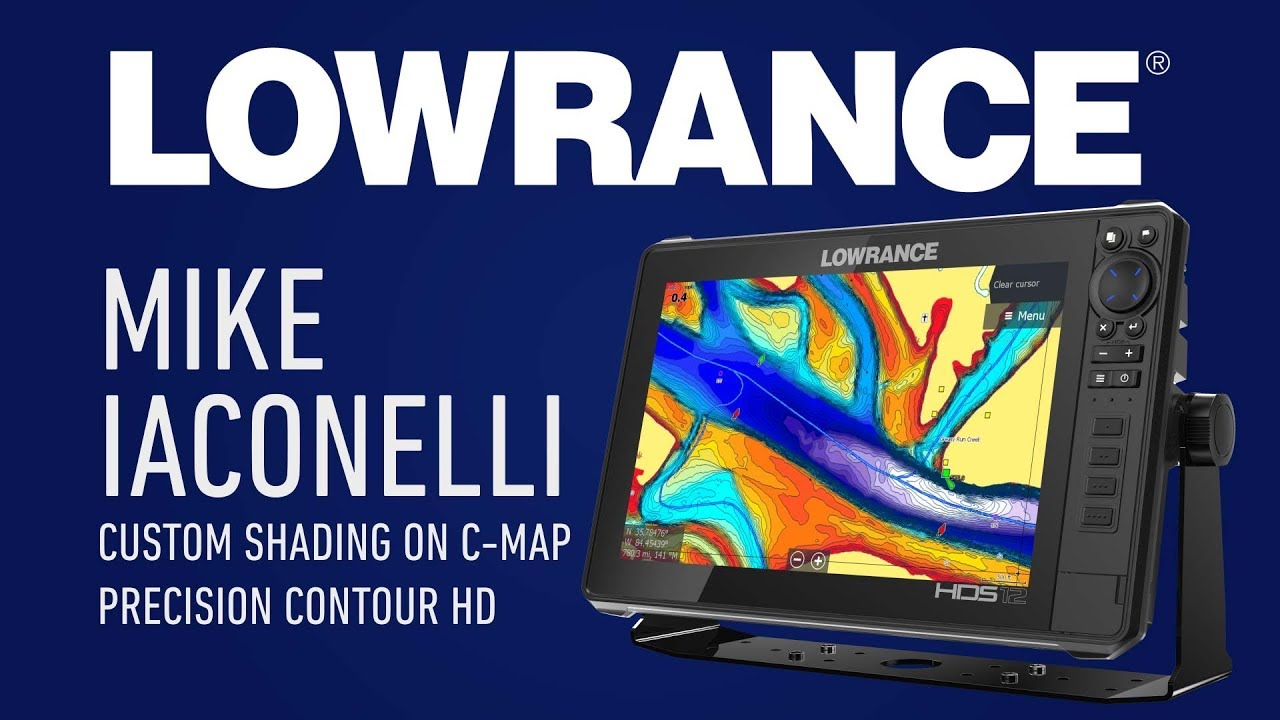 How Mike Iaconelli Used C-MAP Precision Contour HD in the Bassmaster  Classic   Lowrance