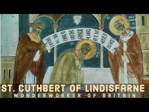 Saint Cuthbert of Lindisfarne