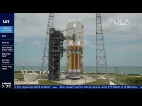 Delta IV NROL-37 Launch Broadcast