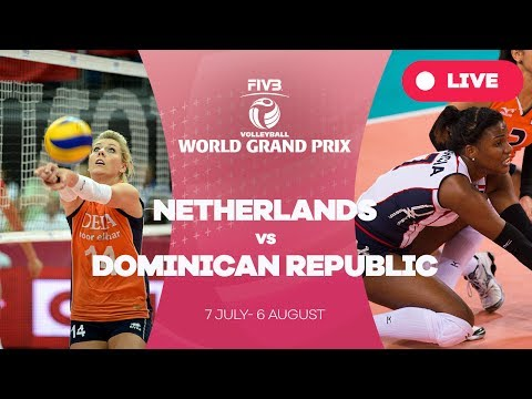 Netherlands v Dominican Republic - Group 1: 2017 FIVB Volleyball World Grand Prix