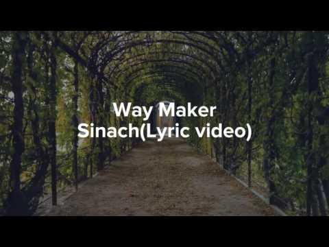 Sinach - Way Maker with lyrics (Gospel)