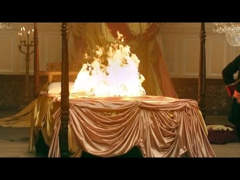 Image result for bed on fire