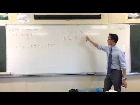 Plotting Fractions on a Number Line (2 of 2: With Different Denominators)