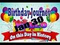 Birthday Journey January 30 New