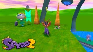 Spyro 2 - Hidden dialogue in Metropolis