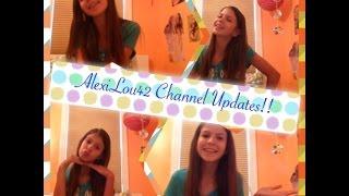 AlexiLou42 Channel Updates! Please Watch! Thumbnail