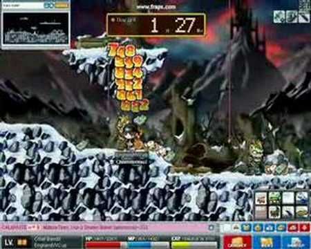 Maple Story Zombie Hunting