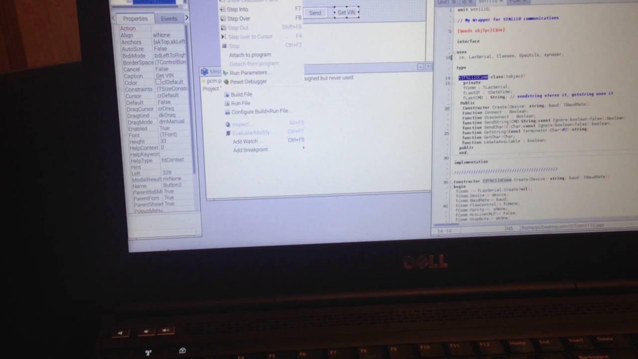 Raspberry pi3 - SparkFun OBD-II UART - GM PCM by jdredd34