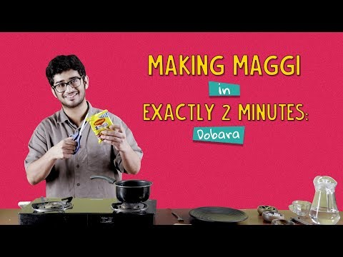 Making Maggi In Exactly 2 Minutes - Dobara | Ft. Akshay & Sonali | Ok Tested