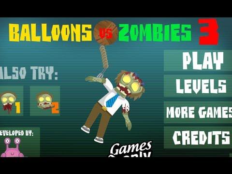 Balloons VS Zombies 3 Level 1-21 Walkthrough
