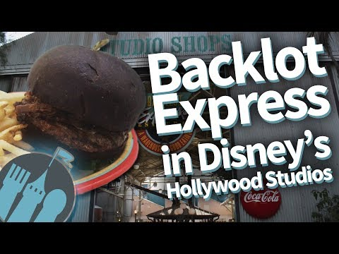 Disney Restaurant Review: Backlot Express in Disney World's Hollywood Studios!