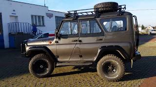 UAZ HUNTER TROPHY EVO TX [ TARMOT 4X4] walk around