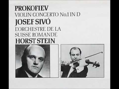 Josef Sivo - Prokofiev - Violin Concerto No.1 in D major, Op 19, 2. Scherzo. Vivacissimo