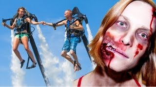Jet Packs and Zombies: 2012 Compilation & Unseen Bonus Footage