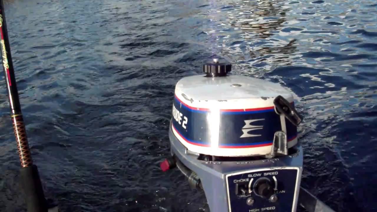 1976 Evinrude 2 horsepower motor - Ned's Fishing Channel