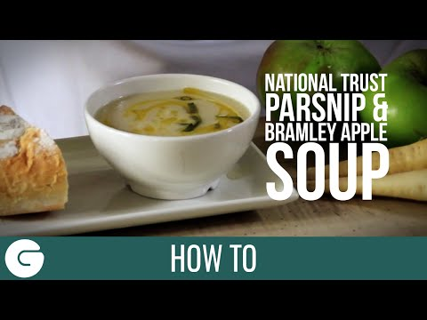 How To Make National Trust Parsnip & Bramley Apple Soup