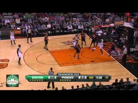 Chris Wilcox 5 Dunks - 14 points,8 rebounds - Highlights vs Phoenix Suns 2/22/2013
