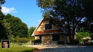 475 Browns Point Moneta VA 24121 Home For Sale Smith Mountain Lake