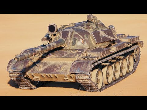World of Tanks T 55A - 6 Kills 9,8K Damage thumbnail