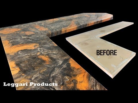 Leggari Epoxy Countertop Kit | Black & Brass
