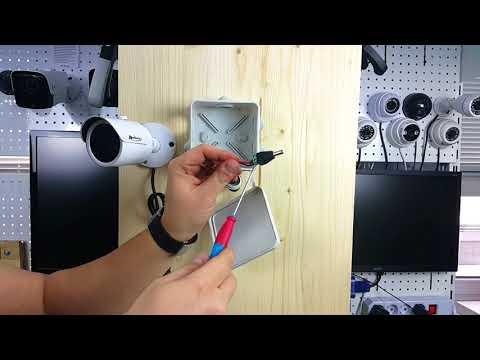 Как смонтировать уличную видеокамеру?