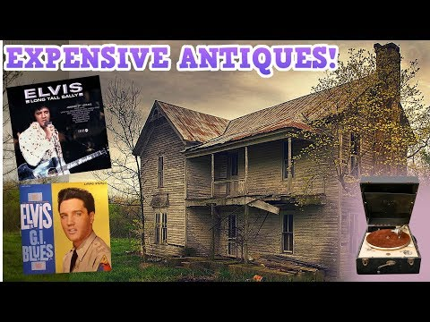 Abandoned House Found Elvis Presley Collectibles!