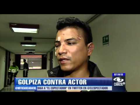 Actor fue brutalmente atacado por universitarios en Bogotá