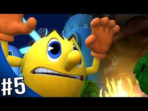 Pac-Man and the Ghostly Adventures 2 Walkthrough - Gameplay Part 5 - Pacopolis: Paczilla