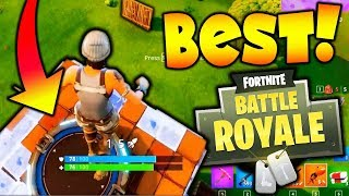 The BEST WAY TO END A GAME!!! (Fortnite Battle Royale)