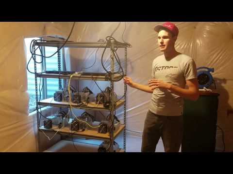 How To Setup A Bitcoin Farm In Your Basement