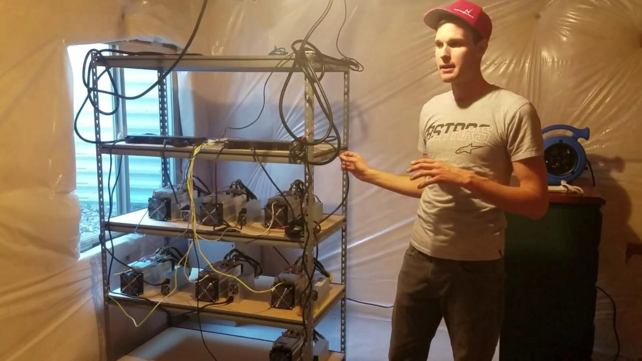 How to setup a Bitcoin Farm in your Basement - CryptoTradingTube